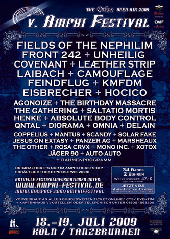 Amphi Festival 2009