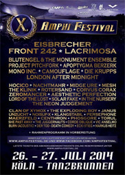 Amphi Festival 2014 - official flyer