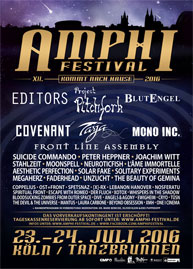 Amphi Festival 2016 - official flyer