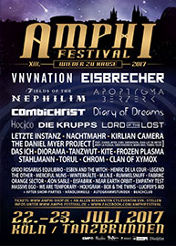 Amphi Festival 2017 - official flyer