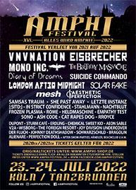 Amphi Festival 2022 - official flyer