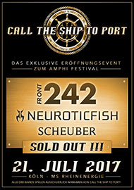 Amphi Festival 2017 - Call the ship to port