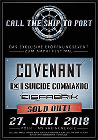 Amphi Festival 2018 - Call the ship to port