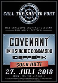 Amphi Festival 2018 - Call the ship to port