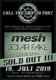 Amphi Festival 2019 - Call the ship to port