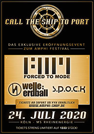 Amphi Festival 2020 - Call the ship to port