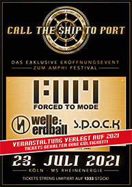 Amphi Festival 2021 - Call the ship to port