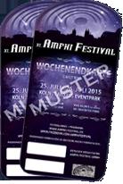 Bilety na Amphi Festival